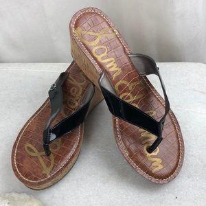 NWOT Sam Edelman cork wedge sandals size 8-9M